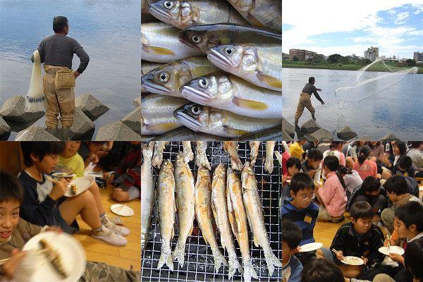 120人の子どもたちがアユを食らう_c0091679_0491440.jpg