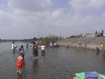 多摩川で潮干狩り?_c0091679_18525524.jpg