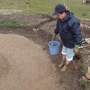 多摩川でゴミひろい_c0091679_16523577.jpg