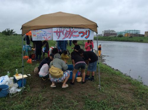 2015年8月29日『夏の多摩川チャレンジ』多摩川水族館_c0091679_12523515.jpg